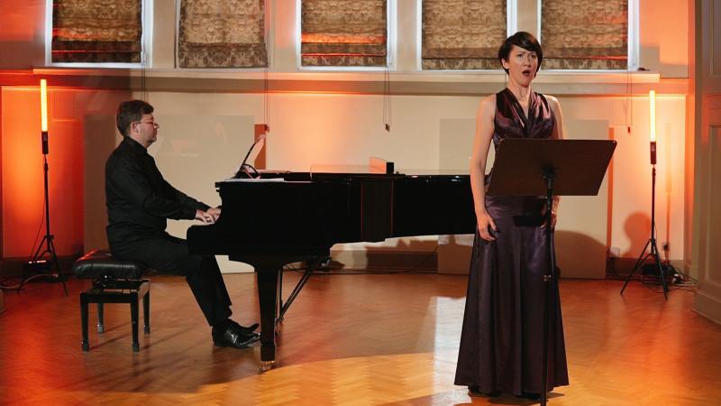 Kornelia Wojnarowska - sopran. oraz Witold Kawalec-fortepian, fot. Jacek Owczarz | Jack Jack Films