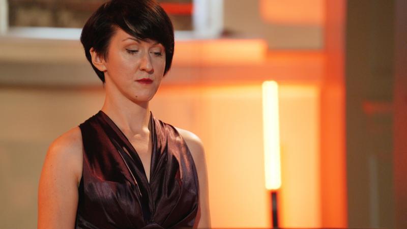 Kornelia Wojnarowska (sopran) w repertuarze pieśni współczesnych, fot. Jacek Owczarz | Jack Jack Films